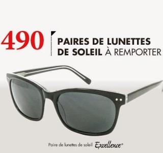 Jeu concours :Gagnez des lunettes de soleil